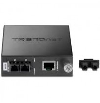 Intelligent 1000Base-T to 1000Base-FX Multi-Mode SC Fiber Converter - [TFC-1000MSC]